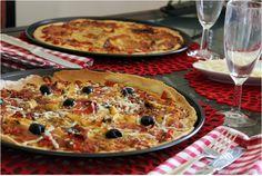 Pizza de Paiola, Azeitonas e Rúcula