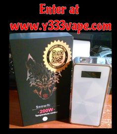 #Win a Snowwolf from www.y333vape.com open worldwide #vape #vaping #ecigs