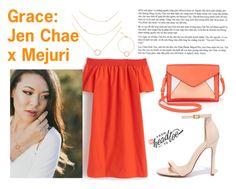 """Grace: Jen Chae x Mejuri"" by anisimova-i ❤ liked on Polyvore featuring J.Crew, Liliana, Apt. 9, contestentry and jenchaexmejuri"