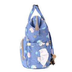 Sunveno - Diaper Bags - Unicorn Blue  Product details For the Stylish and Traveller Mom's, this Unicorn Diaper Bag is the best. This Sunveno diaper bag comes with beautiful unicorn print and a lovely subtle blue color to make this extremely spacious bag, turn heads around. The wide zipper opening with metal support and beautifully crafted golden zippers give this bag a royal look. Despite all the space and accessories, this a light weight bag weighing only 750 gms, Not even a Kg! The unique feat Sunveno Diaper Bag, Trendy Diaper Bags, Weight Bags, Beautiful Unicorn, Royal Look, Unicorn Print, Baby Items, Zippers, Sling Backpack