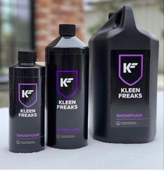 Kleen Freaks CarCare Products, Snow Foam available in 1 Litre and 5 litre volumes. Car Wash Soap, Belgium, Shampoo, Snow, Bottle, Products, Flask, Beauty Products, Bud