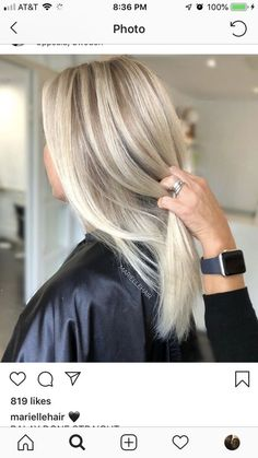 Platinum Blonde Balayage Ombre For Summer Haircolor - Page 29 of 32 - Dazhimen Pretty Hairstyles, Hairstyle Ideas, Updo Hairstyle, Fall Hairstyles, Blonde Hairstyles, Bridal Hairstyle, Best Ombre Hair, Balayage Ombré, Hair Skin Nails