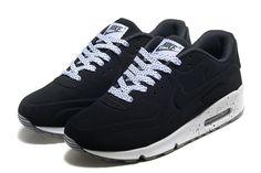 1c744bc88b8 Nike Air Max 90 Zapatos De Hombre Negro Blanco 5024