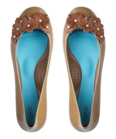 Camel Flower Gisele Flat | Daily deals for moms, babies and kids