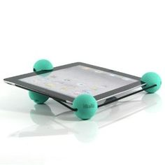 Blue / iPad3 / The New iPad / iPad2 / P6800 / P7300 / Ball Bumper accessories / Shock Absorbing Harness (7311-3)