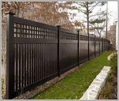 garden fence panels healthy, horizontal pvc fence rails