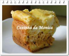 COZINHA DA MONICA: Torta salgada de liquidificador de frango com catupiry - massa com cenoura