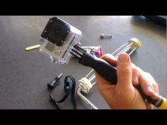 Easy to make, budget DIY - GoPro camera handle and extension GoPole