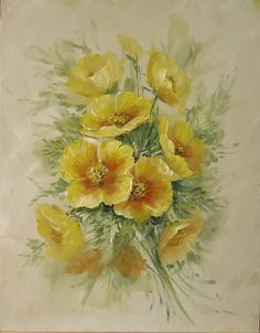 B5016 A Study of Flowers- Printed - Jansen Art Store