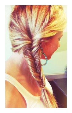 fishtail hairstyle Cute Hairstyles with Fishtail Braids