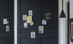 Appliquer une peinture aimantée dite magnétique Diy Décoration, Decoration, Locker Storage, Shabby Chic, Simple, Furniture, Home Decor, Lingerie, Kitchen