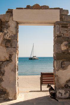 Diafani viilage on Karpathos, Dodekanese, Greece <3