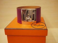 Hermès Kelly Dog Bracelet Tosca @ http://baglissimo.weebly.com
