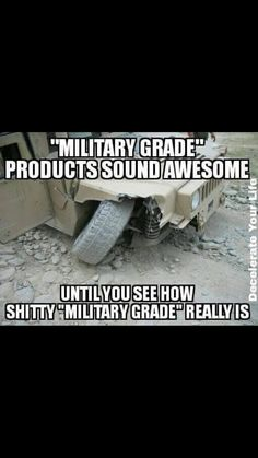 Made by the lowest bidder. Funny Military, Military Post, Military Quotes, Military Pictures, Military Veterans, Military Life, Once A Marine, My Marine, Marine Corps