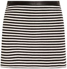 Striped Mini Skirt ($133)
