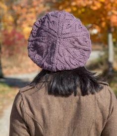Lace Leaf Hat, A Free Knitting Pattern | NorthCoast Knittery