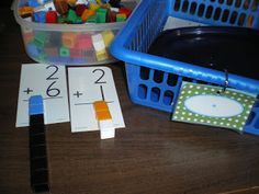 Mrs. Bremers Kindergarten: math work stations