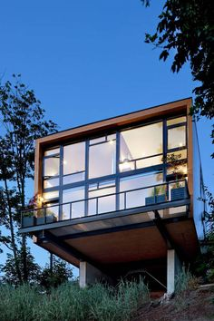 The EB1 Residence by Replinger Hossner Osolin Architects.