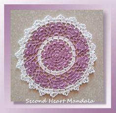 Pattern Review- Second Heart Mandala Pattern