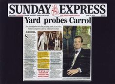 Watergate Scandal REMIX REAL*TIME Conservative Party Offshore Tax Evasion Fraud Carroll Trust