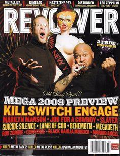 Revolver music magazine Killswitch Engage Marilyn Manson Slayer Suicide Silence