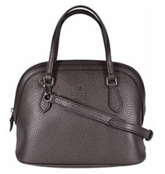 Gucci Women's Textured Leather Convertible Mini Dome Purse