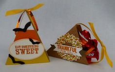 October 2014 Paper Pumpkin -  My Pumpkin Challenge- MPC1014- Sweets and Treats #2 - A basket and a treat box.  Very fun!