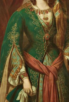 Sadness and classic art, Odalisque, Detail. German School. Early 19th...