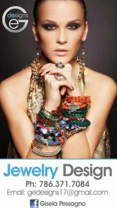 follow in www.giselapessagno.com Faceboock, Intagram, Pinterest si esta a la moda Ge designs lo tiene #miami