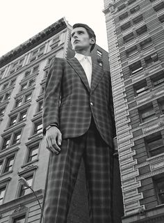 Patterned Suits Go Big for Fall