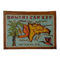 DOMINICAN REPUBLIC  Leather Travel Scrapbook / by leathermaps, $39.90