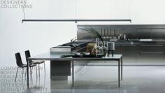 Clean, modern kitchen. Stainless Steel Kitchen