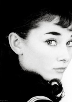 Audrey Hepburn in a publicity still for the Broadway production of Gigi, 1951.