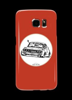 'Crazy Car Art Case/Skin for Samsung Galaxy by ozizo Car Illustration, Weird Cars, Kustom Kulture, Canvas Prints, Art Prints, Cotton Tote Bags, Samsung Galaxy, Phone Cases, Mugs