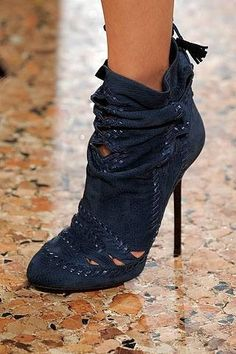 If these didn't have a stiletto heel, they would be perfect