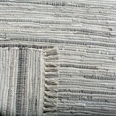 Highland Dunes Wincanton Abstract Hand-Knotted Cotton Gray Area Rug & Reviews | Wayfair Cotton Textile, Washable Rugs, Rug Material, Accent Rugs, Trendy Colors, Grey Rugs, Woven Rug, Rug Making, Hand Weaving
