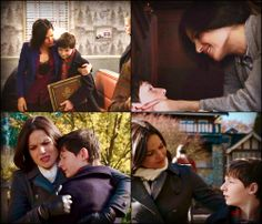 Regina & Henry ...I always knew Regina's good would come out again :)