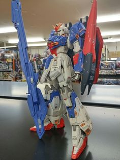 ゼータ、簡易撮影 | けいたろのブログ Gundam Wing, Gundam Art, Zeta Gundam, Sci Fi Models, Gundam Model, Toy Craft, Mobile Suit, Badass, Action Figures