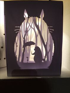 Totoro papier