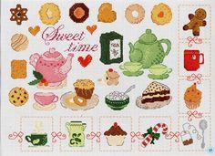 ru & Фото - A punto croce 34 - Los-ku-tik Cross Stitch Designs, Cross Stitch Patterns, Cross Stitching, Cross Stitch Embroidery, Cross Stitch Tutorial, Cross Stitch Kitchen, Swedish Weaving, Cross Stitch Alphabet, Perler Patterns