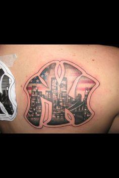 New York Tattoo by Pierce Godbay in Binghamton NY