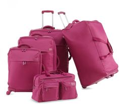 Lipault Fourwheel 25 Packing Case in Purple for Men (FUCHSIA). | Travel Advice for Men #howmendress #menswear #mensfashion