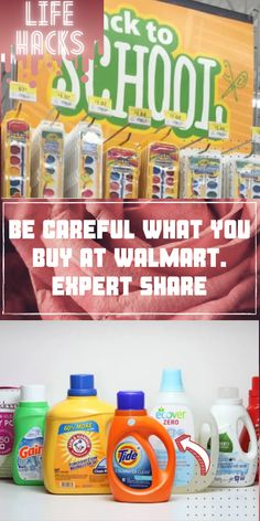 Chances are, if you need something, you can usually find it at Walmart. But keep in mind that not everything you can get at Walmart is worth buying there. #Diy #Hacks #LIFEHACKS #CRAFTS #HOWTO #TOURS #UPCYCLING