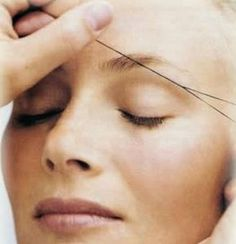 how to thread facial hair, step by step. are you brave enough to try?