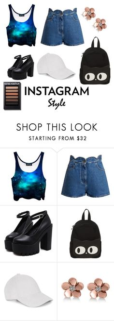"""""""Insta Weird Wonders"""" by sarcasm-is-my-language ❤ liked on Polyvore featuring Valentino, Allurez, 60secondstyle and PVShareYourStyle"""