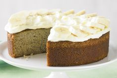Use up over-ripe bananas to create a crowd-pleasing afternoon-tea cake.
