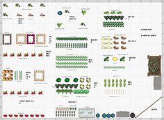 Garden Plan - 2013: allotment 1