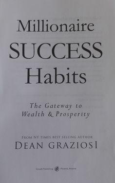 Dean Graziosi nos muestra parte de su increíble historia y la de muchos otros, que comenzaron siendo pobres en diferentes ámbitos de la vida, no sólo económico, para comprobar que cualquier persona puede lograr lo que se proponga, no importa la dimensión del objetivo. Explica a su manera cómo atraer la abundancia, la propsperidad y el éxito con tan sólo un cambio en nuestros sistemas de creencias. No Me Importa, Ny Times, Wealth, Success, Books, Goal, Recommended Books, Abundance, Parts Of The Mass