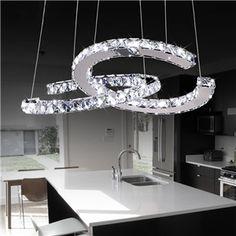 Crystal Chandelier Lighting, Luxury Chandelier, Modern Chandelier, Modern Lighting, Chandeliers, Lighting Ideas, Diamond Furniture, Entrance Lighting, Led Ceiling Lights