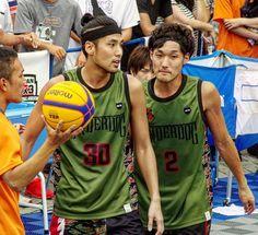 福田兄弟😄😄このユニフォームが一番かっこよく似合うと思う🎵日本無線の黒もかっこいいかな✨ #福田大佑#弟さん#underdog#jba3x3 #3x3#basketball